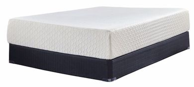 Ashley Chime 12 Inch Adjustable Head, Foot and Massage-Full Mattress Set