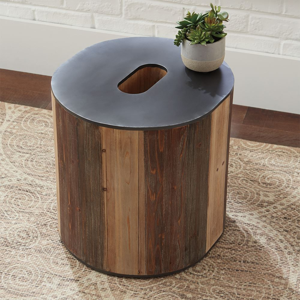 "Picture of Highmender ""O"" Accent Table"