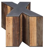"Highmender ""X"" Accent Table"