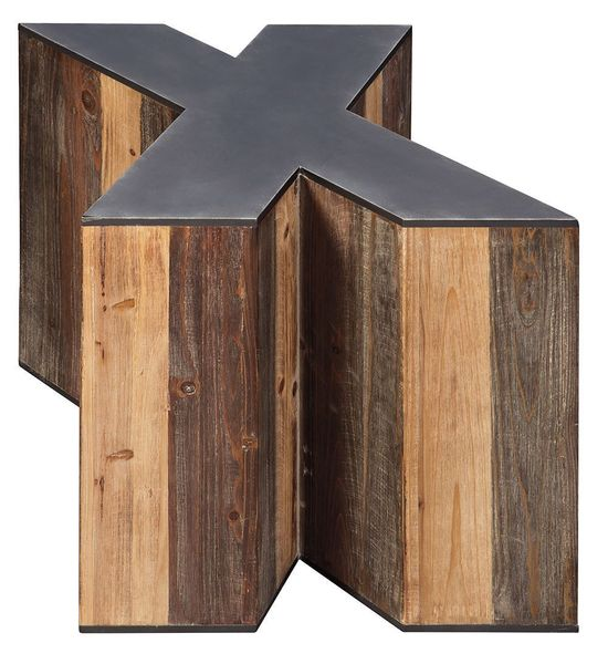 "Picture of Highmender ""X"" Accent Table"