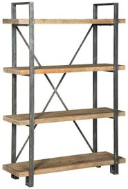 Forestmin Metal Wood Shelf