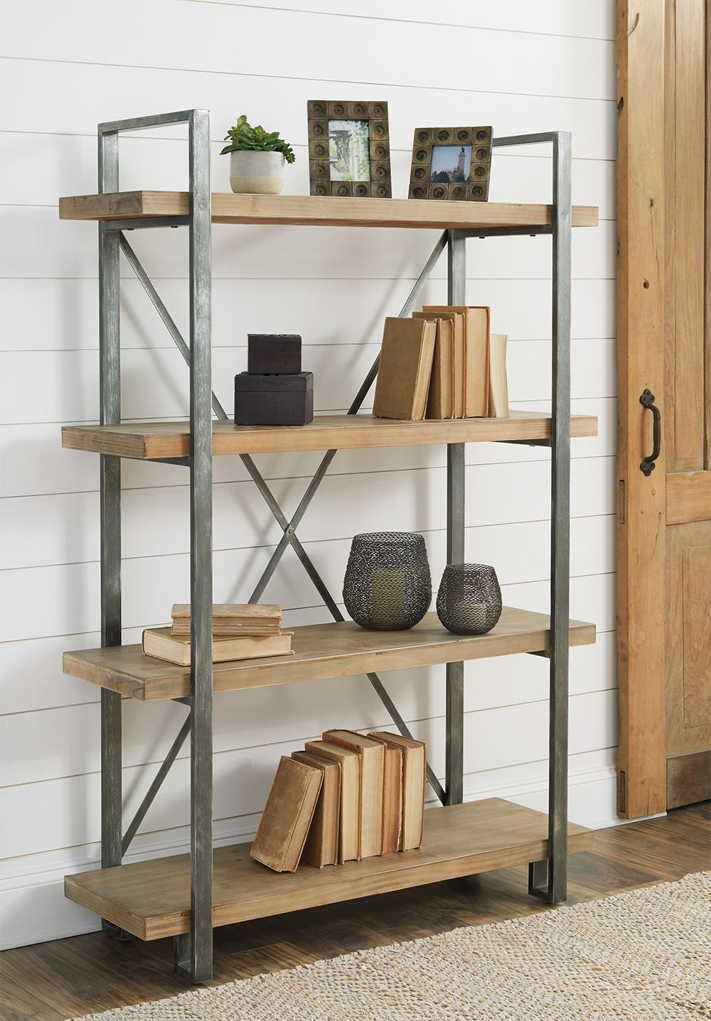 Picture of Forestmin Metal Wood Shelf