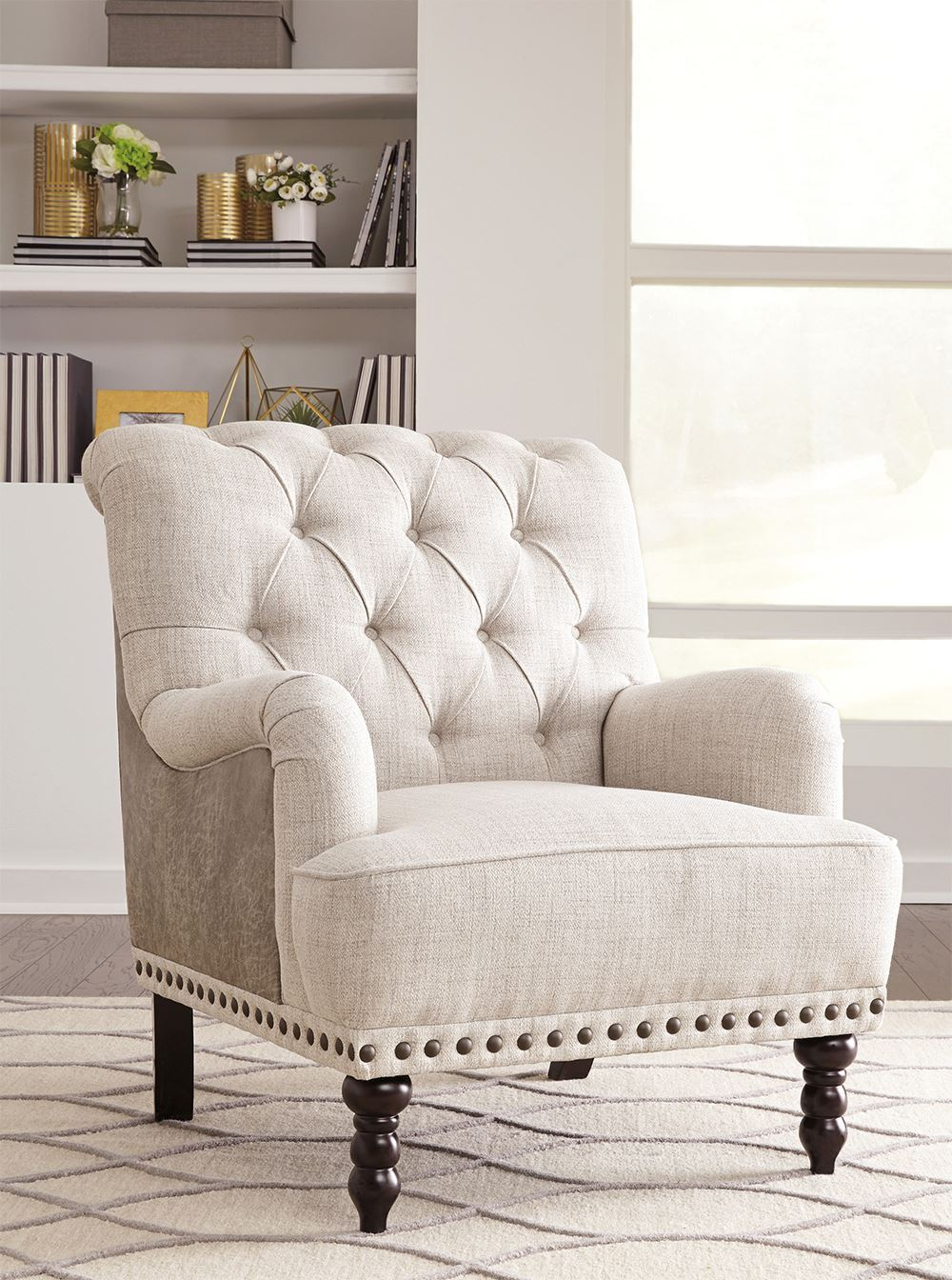 Picture of Tartonelle Ivory Accent Chair