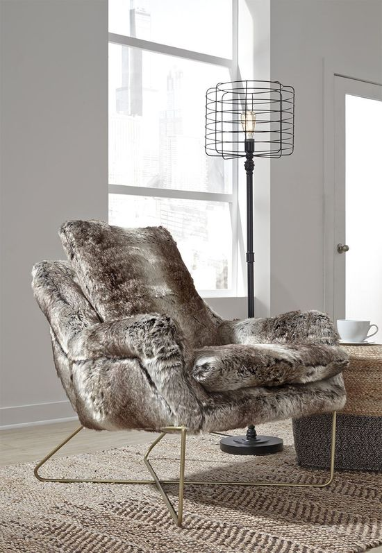 Picture of Wildau Gray Accent Chair