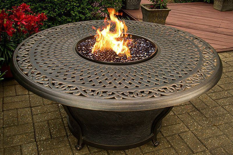 Picture of Charleston Fire Pit with Four Chairs