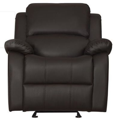 Jet Dark Brown Glider Recliner