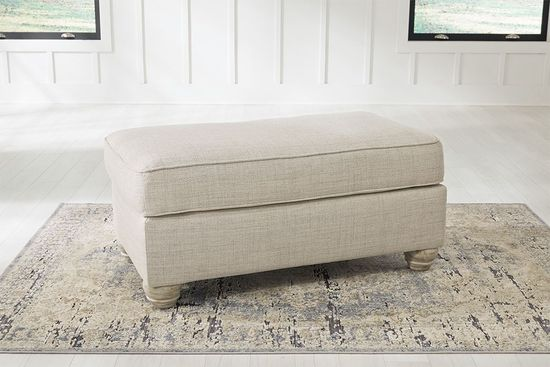 Picture of Traemore Linen Ottoman