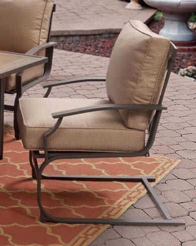 Sonoma Spring Cushioned Chair