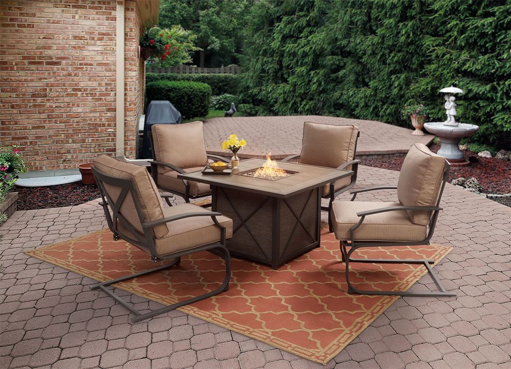 Picture of Sonoma Fire Pit with Four Spring Chairs