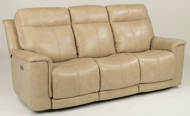 Miller Pebblestone Power Reclining Sofa