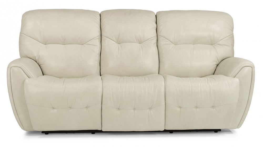Picture of Blaise White Power Reclining Sofa