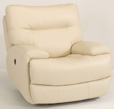 Evian Linen Power Recliner