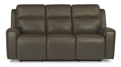 Jasper Pewter Power Reclining Sofa