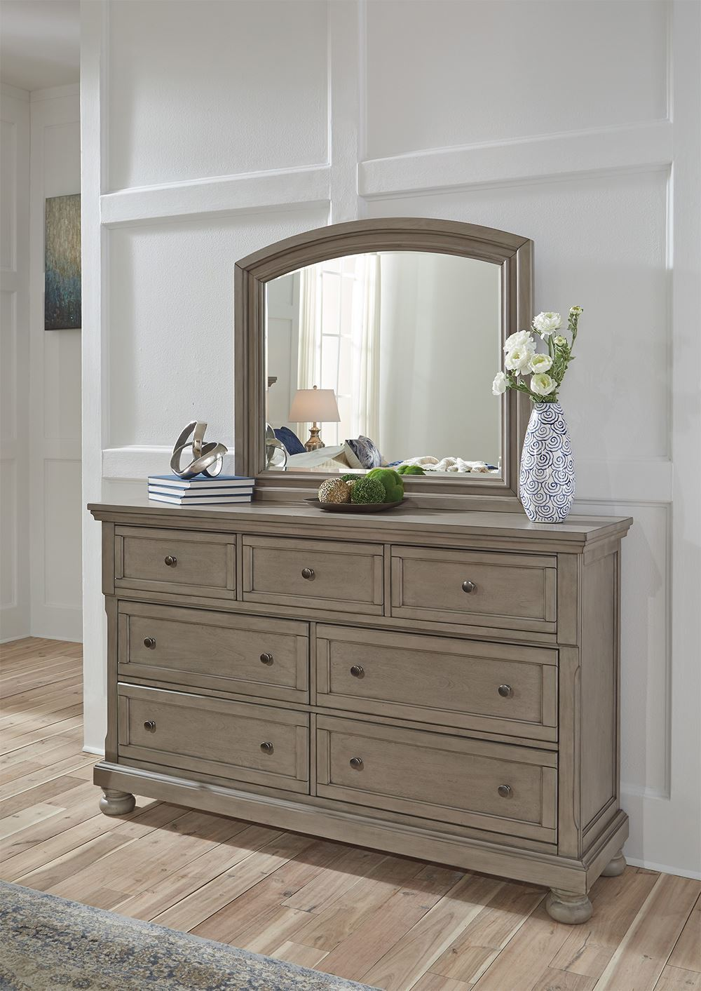Picture of Lettner Dresser and Mirror