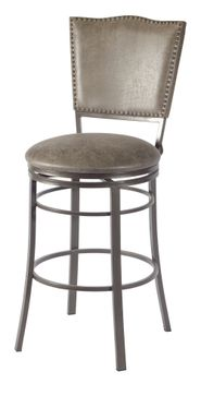 Samantha Granite 24 Inch Swivel Stool