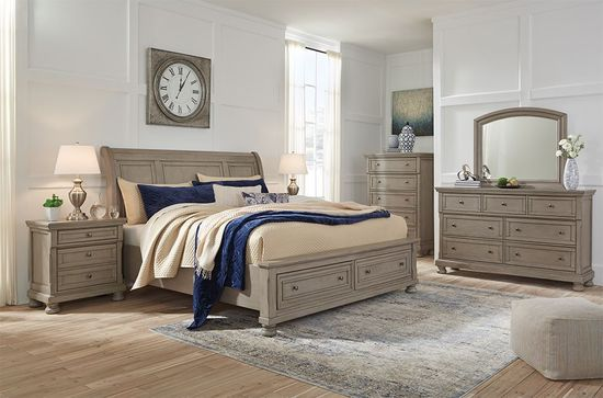 Picture of Lettner Queen Storage Bedroom Set
