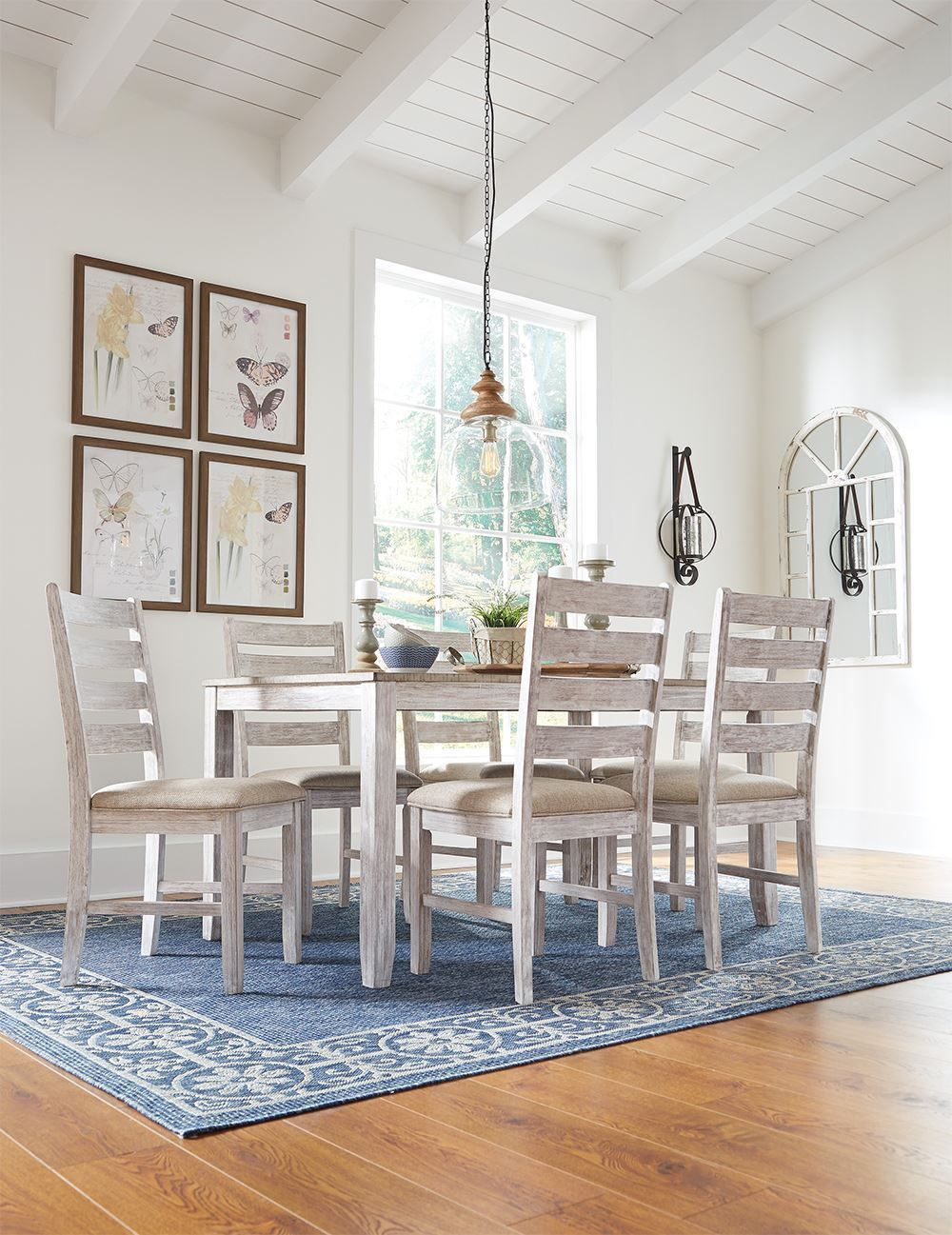 Picture of Skempton Table with Six Chairs