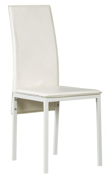 Sariden White Side Chair