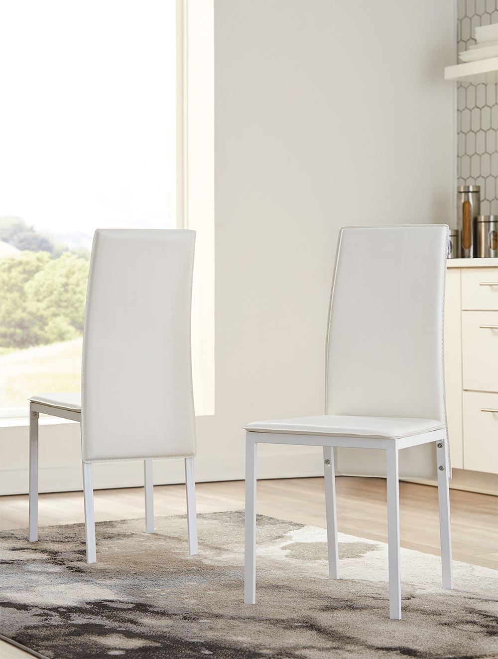 Picture of Sariden White Side Chair