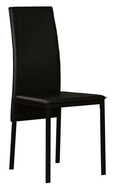 Sariden Black Side Chair