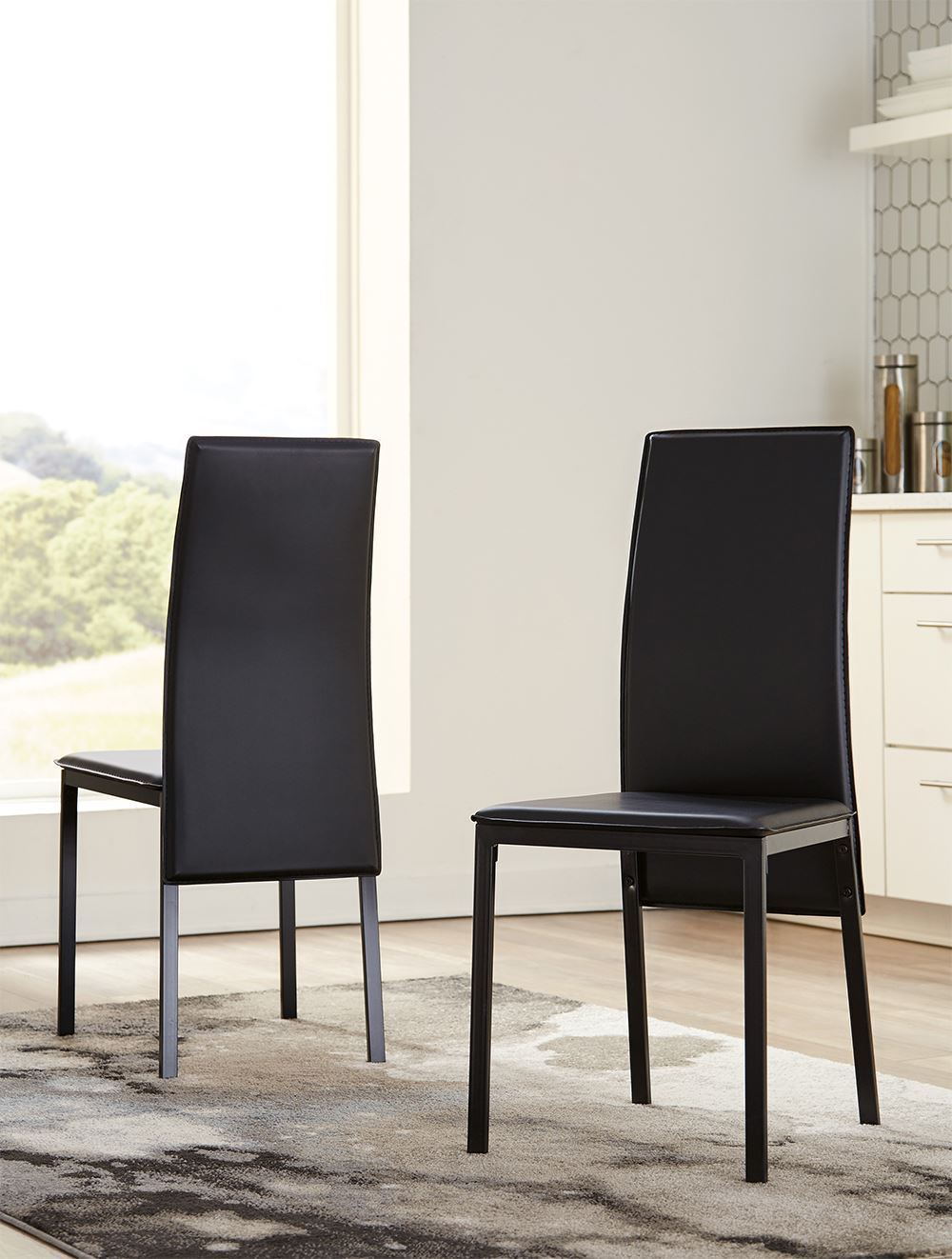 Picture of Sariden Black Side Chair