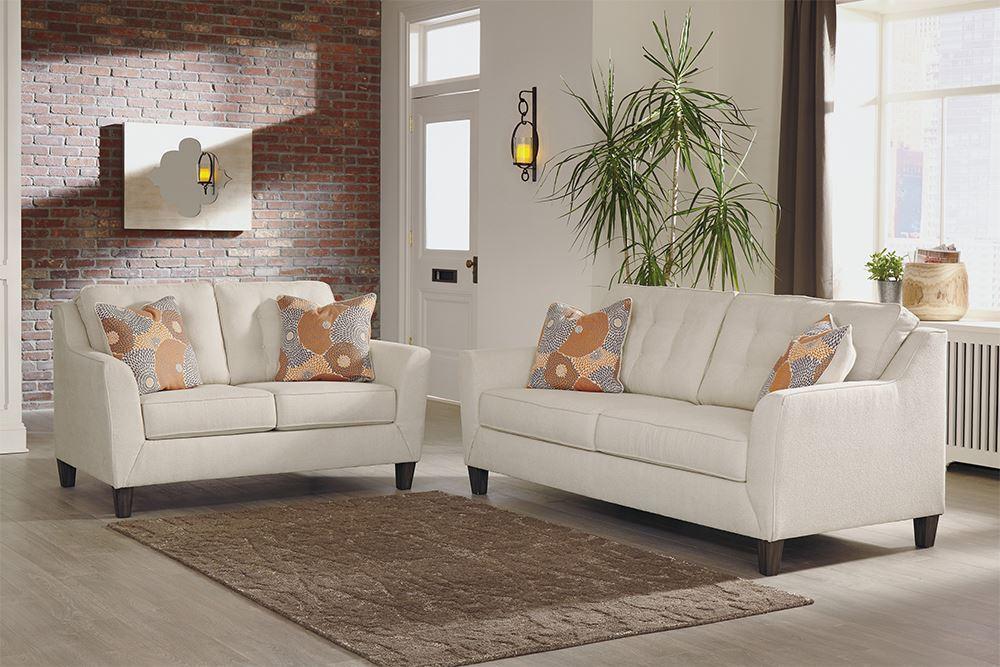 Benissa Alabaster Sofa The Furniture Mart