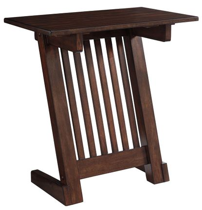 Braunner Brown Chairside Table