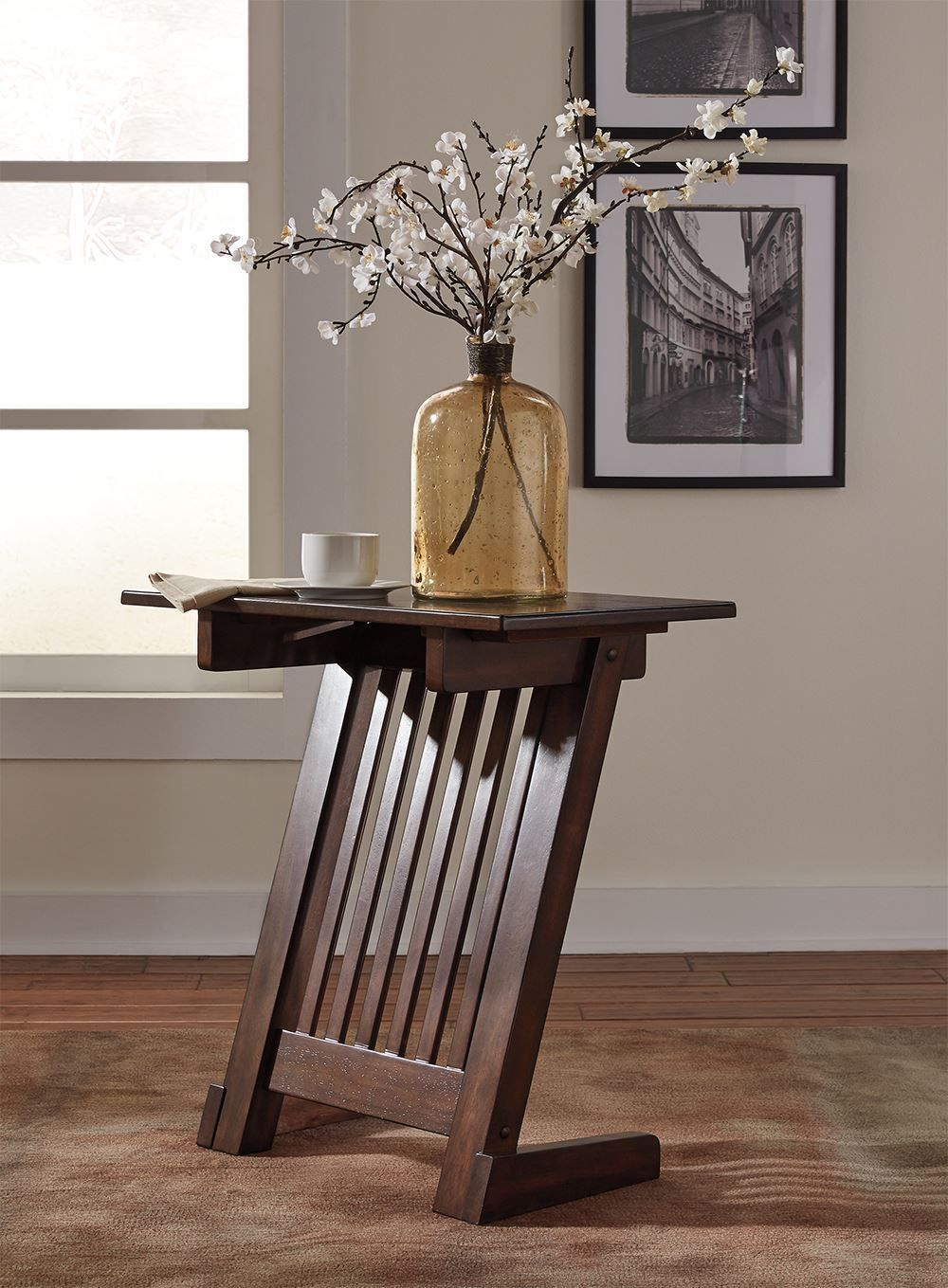 Picture of Braunner Brown Chairside Table