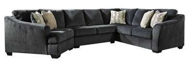 Eltmann Slate Three Piece Sectional