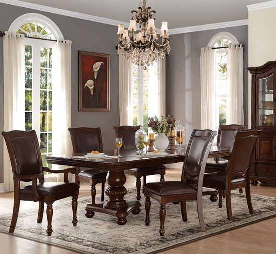 Picture of Lordsburg Double Pedestal Extension Table
