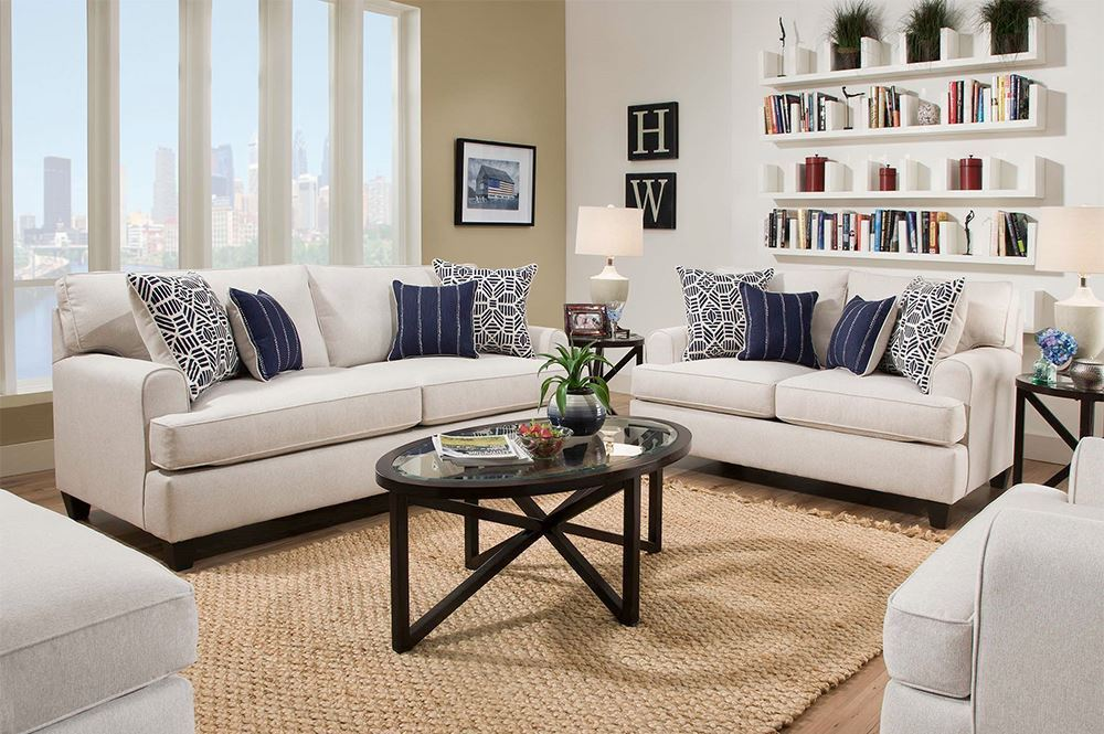 Picture of Popstitch Shell Loveseat