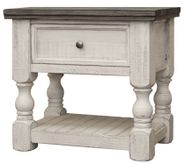 Stone One Drawer Nightstand