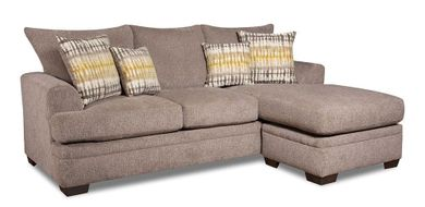 Perth Pewter Sofa with Chaise