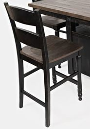 Madison Black Counter Stool