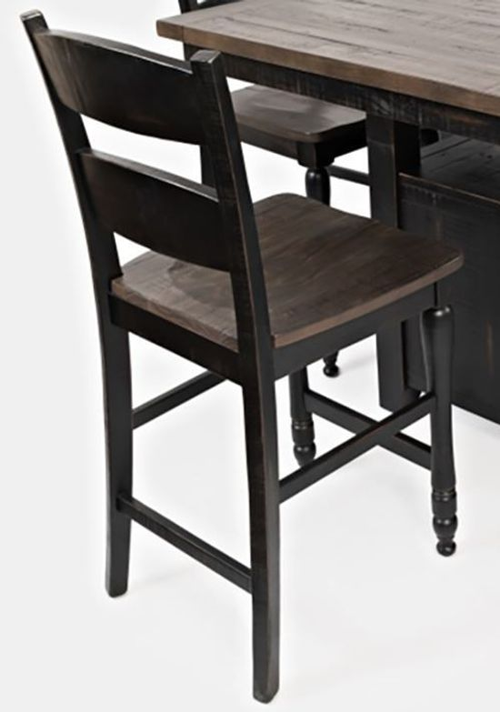 Picture of Madison Black Counter Stool