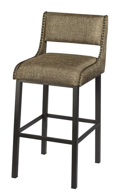 Ross 30 Inch Stationary Bar Stool