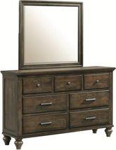 Chatham Grey Dresser and Mirror Set