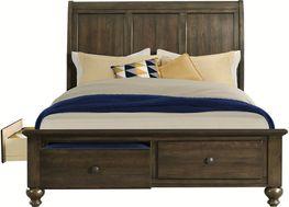 Chatham Grey Queen Storage Bed Set