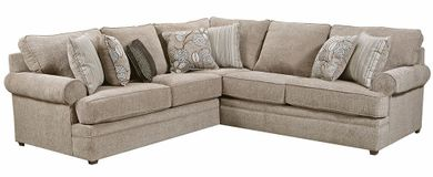 Macy Pewter Two Piece Sectional