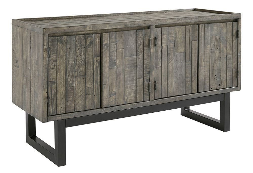 Picture of Cazentine Gray Brown Accent Cabinet