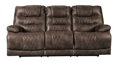 Welsford Walnut Power Reclining Sofa