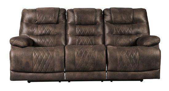 Picture of Welsford Walnut Power Reclining Sofa