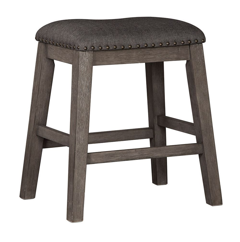 Picture of Caitbrook Upholstered Backless Stool