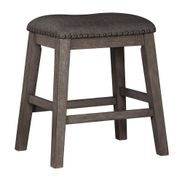 Caitbrook Upholstered Backless Stool