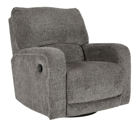 Picture of Wittlich Slate Swivel Glider Recliner