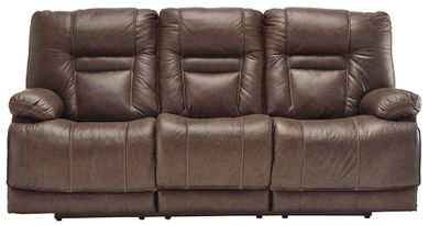 Wurstrow Umber Power Reclining Sofa