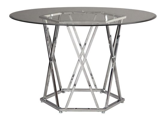 Picture of Madanere Round Glass Top Table