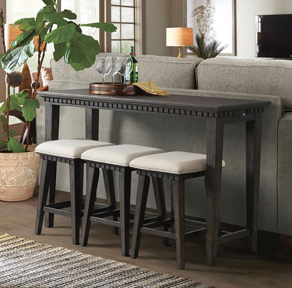 Picture of Morrison Bar Table  With Three Stools