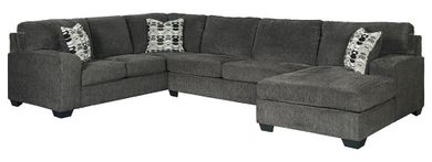 Ballinasloe Smoke Three Piece Sectional