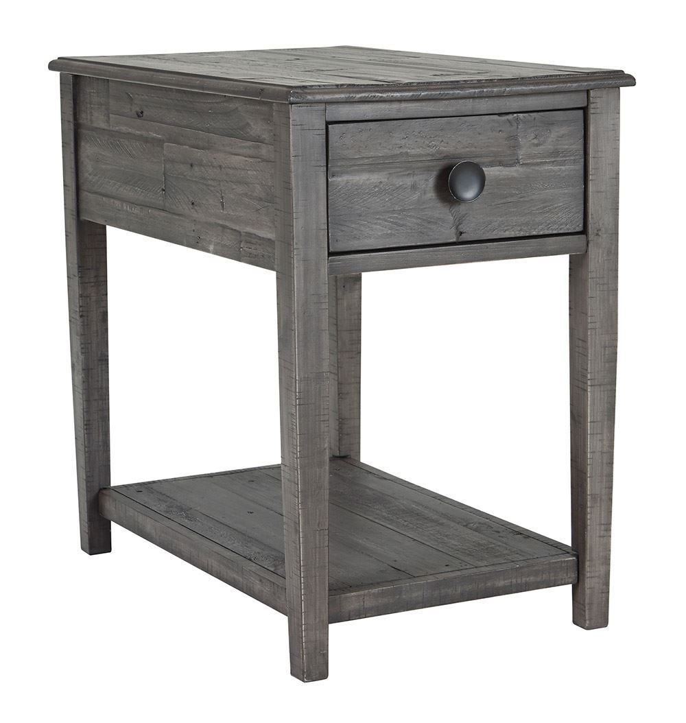 Picture of Borlofield Dark Gray Rectangular End Table